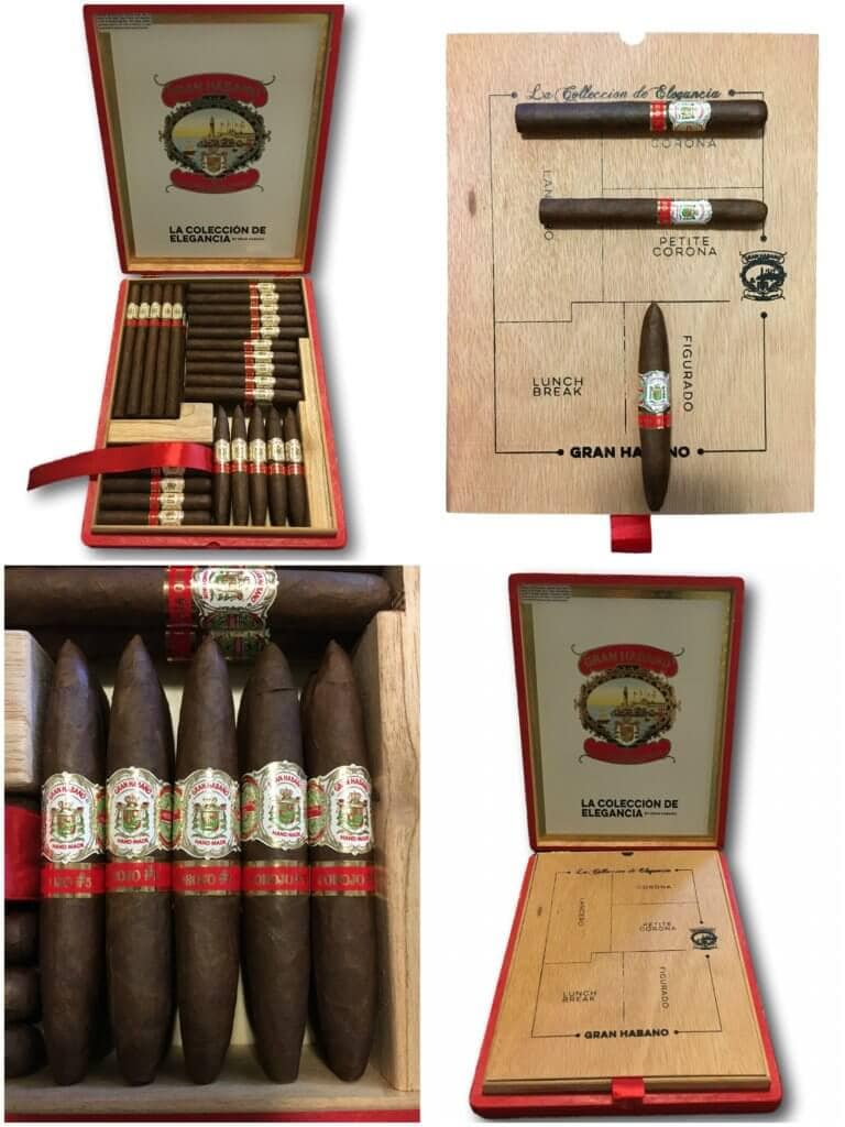 Elegance Collection collage 1 768x1024 - The Gran Habano Cigar by Guillermo and George Rico