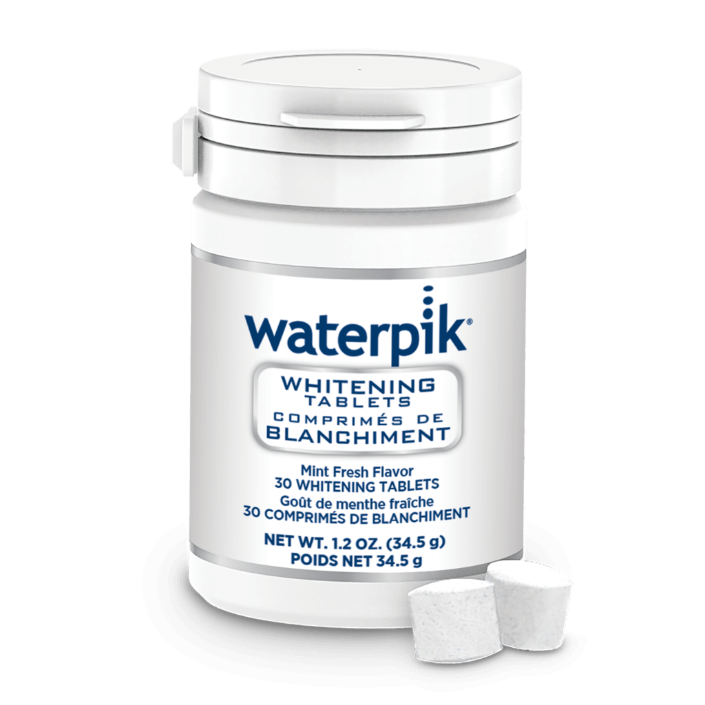 WF Bottle with Tablets 1024x1024 - Dental Floss Is So 2017. Have you Tried a Waterpik?