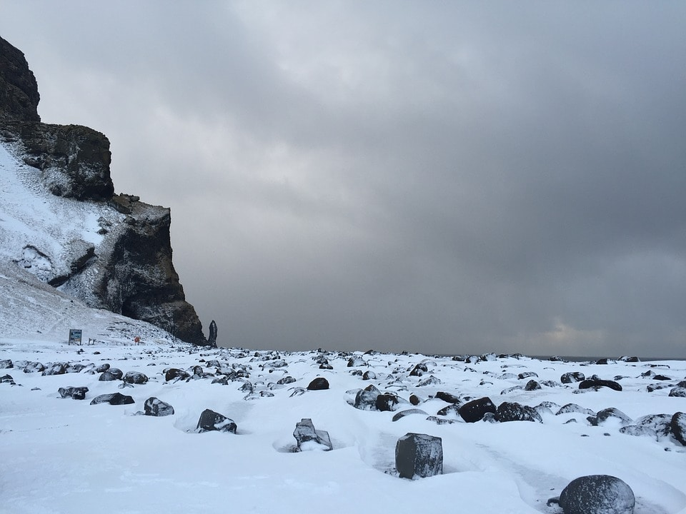 snow in iceland - Be braver than a Viking, visit Iceland in Winters!