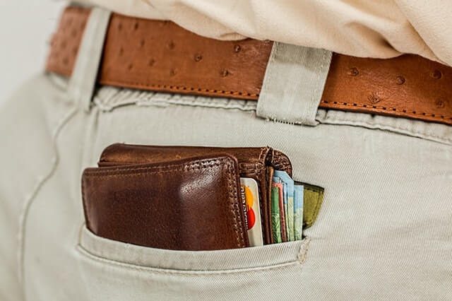 wallet cash credit card pocket - Four Essential Accessories for the Modern Man