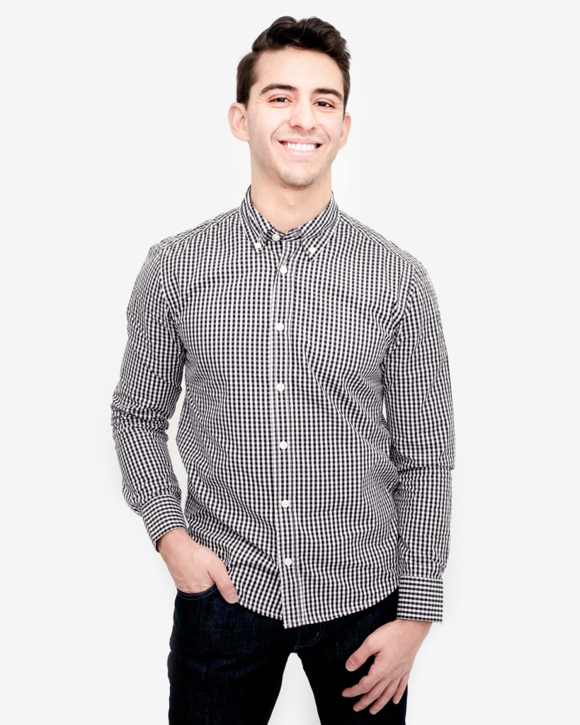 Mike Black Gingham 819x1024 - Beyond Vertical Stripes: Fashion Advice For The Shorter Gentleman