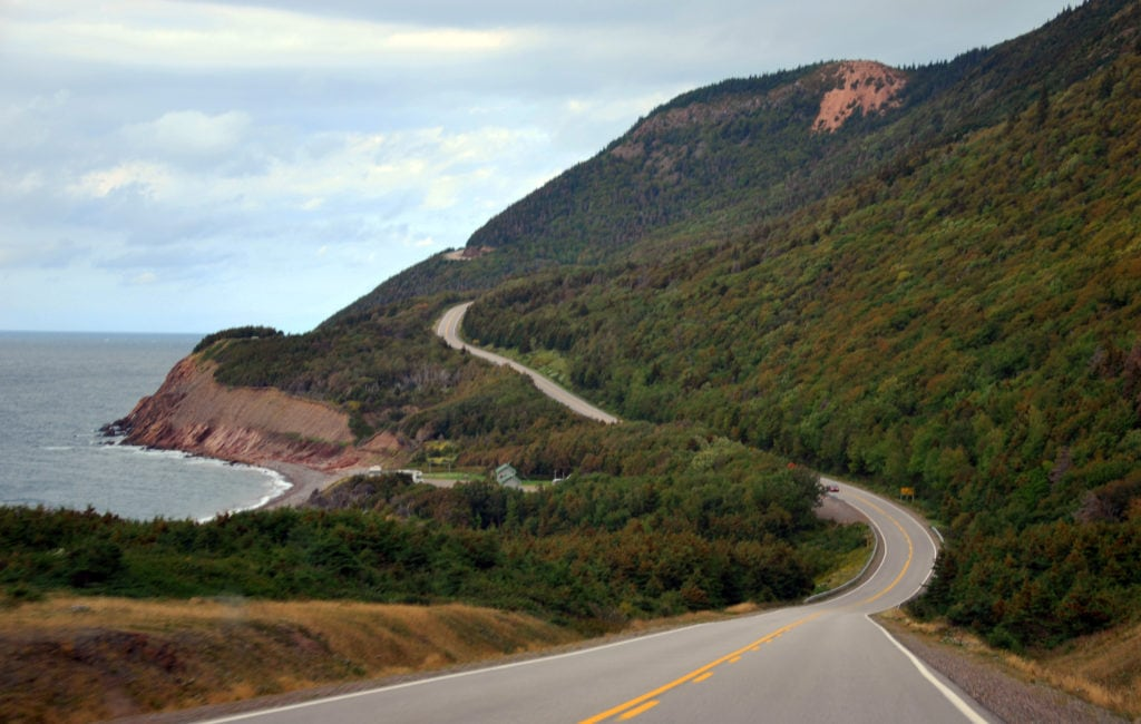 cannada cabot trail 1024x650 - 6 Best Countries To Go On An Adventures Road Trip