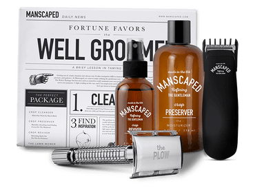 rsz kit trimmer razor deodorant spritz newspaper 1024x1024 - The Gentleman's Guide to Manscaping