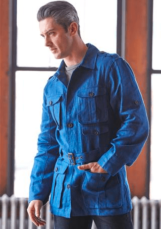 J. Peterman Linen Safari Jacket - Something For Every Man on This Father's Day Guide