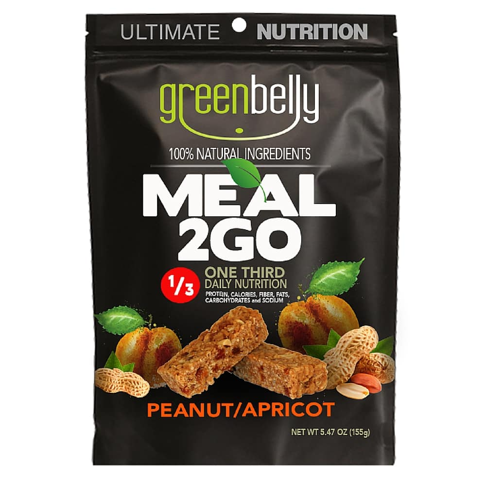 Peanut Apricot Packaging - Greenbelly Meal Replacements: do they live up to the hype?