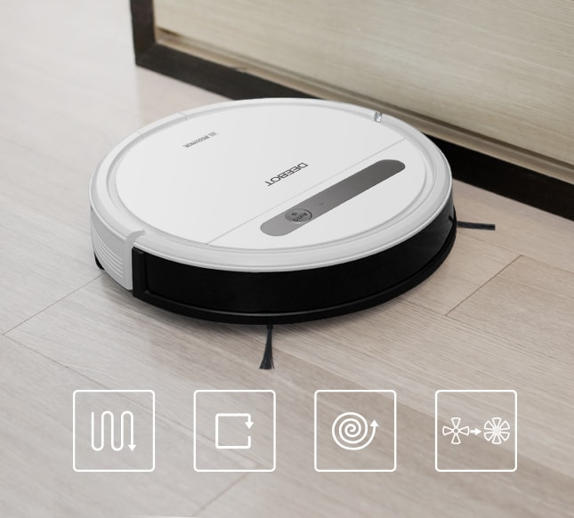 Robot Vacuum Cleaner DEEBOT OZME610 8 - Give The Gift of Never Having To Vacuum or Mop This Father's Day
