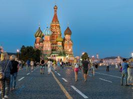 Walking Trip Around Moscow