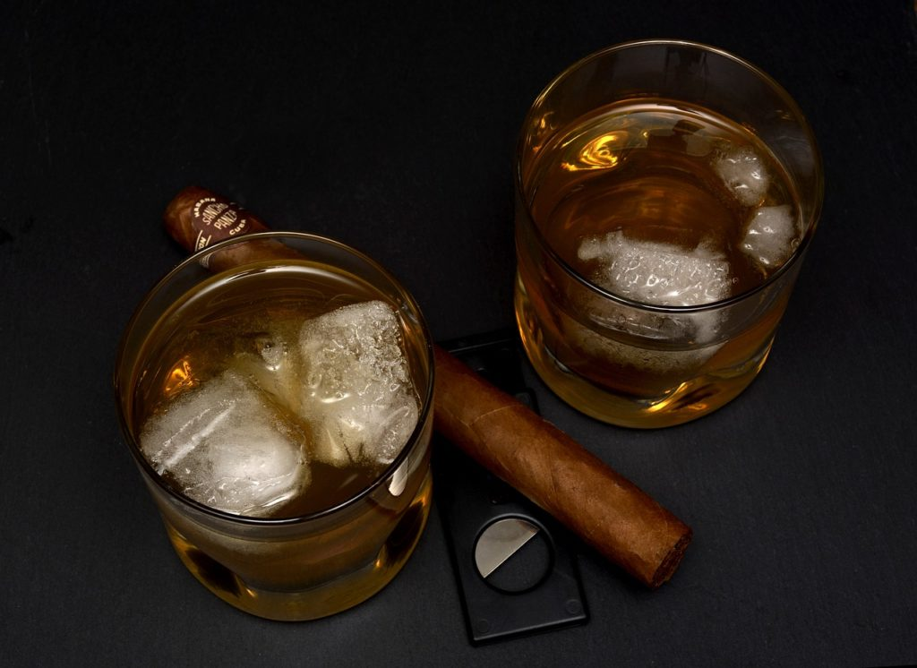 pairing whiskey with cigar 1024x746 - Why Cigars and Whiskey Are the Perfect Match Made in Heaven (And How to Pair Them)