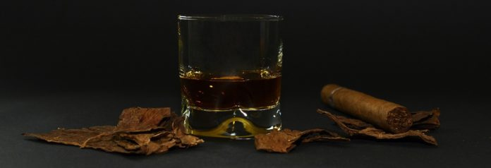 pairing whiskey with cigar on of the best combination