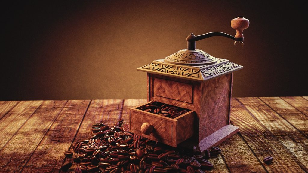 whole bean coffee grinder 1024x576 - 5 Tips to buying good coffee