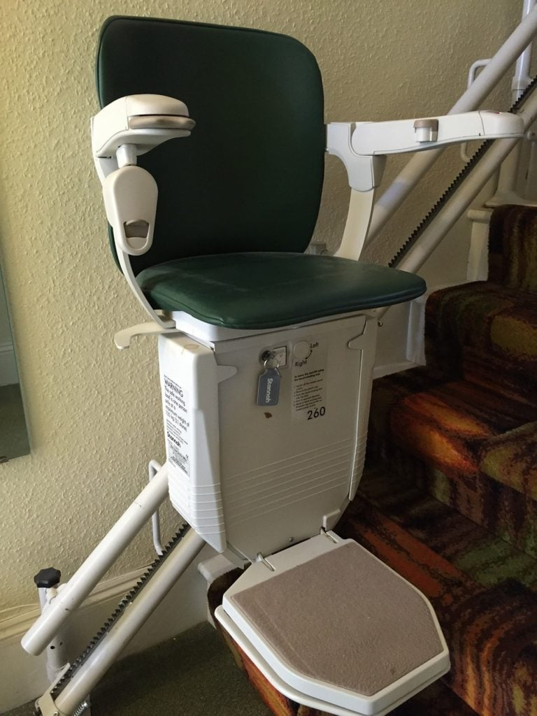 stairlift for old age people 768x1024 - How to stay independent in old age