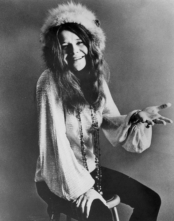 janis joplin - Scandals of the Music World