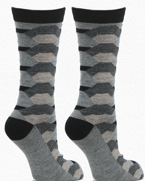 Taupe - Alpaca Socks by Herdes de Ferme This Fall Season