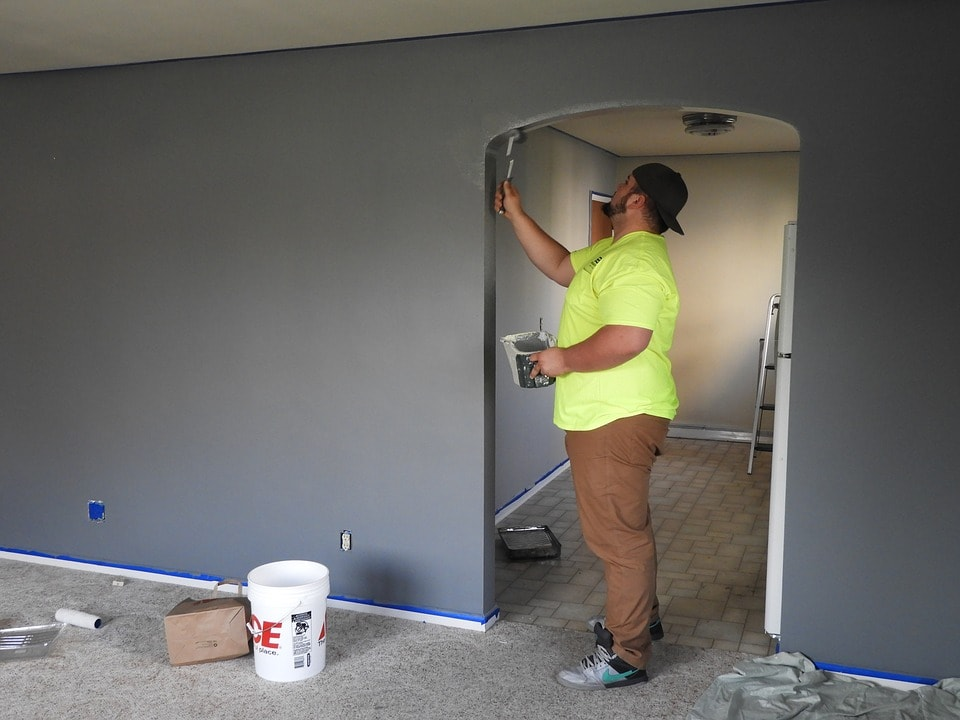 painting house - 4 Ways To Increase The Value Of Your Home