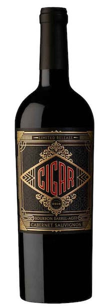 2016 Cigar Cabernet Sauvignon Bourbon Barrel Aged - Last Minute Christmas Gift Ideas for Him