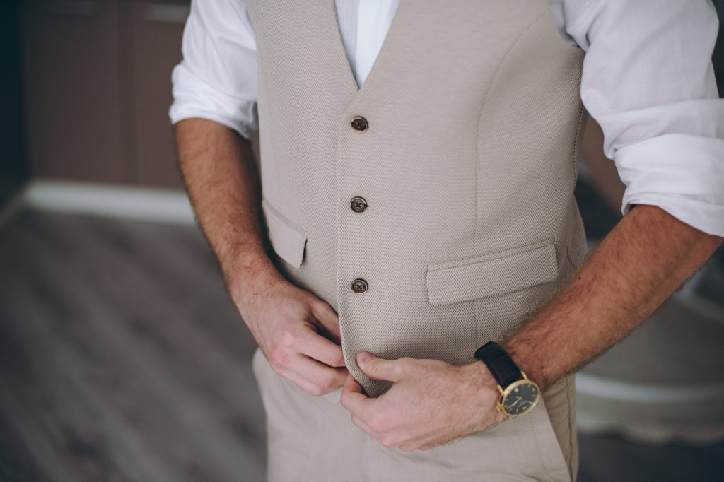 Elegant Groom in Wedding Waistcoat 1024x682 - A Guide to the Groom's Wedding Outfit