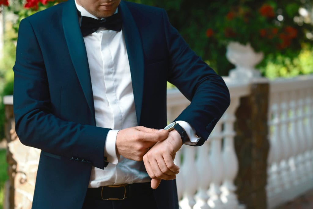 Groom in a tuxedo 1024x683 - A Guide to the Groom's Wedding Outfit