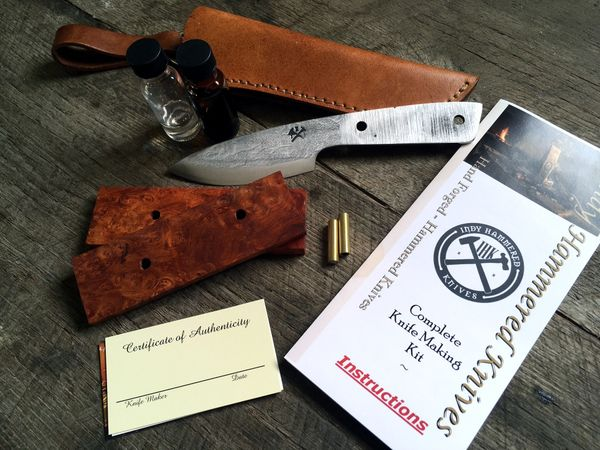 Indy Hammered Knives Kit 1 - Last Minute Christmas Gift Ideas for Him