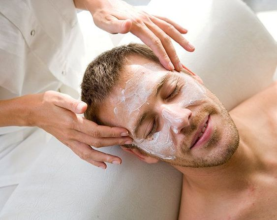 man getting a facial - Is Metrosexuality Affecting Your Healthy Lifestyle?