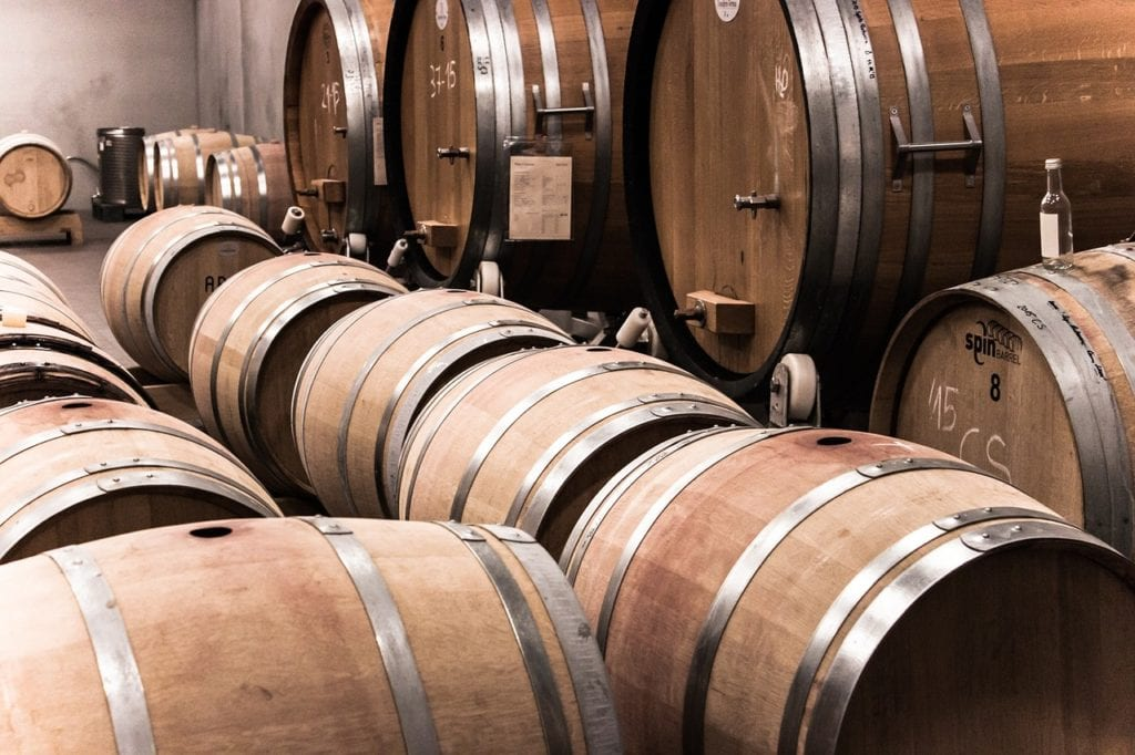 wine barrels 1024x682 - Must-See Wineries on Your California Road Trip