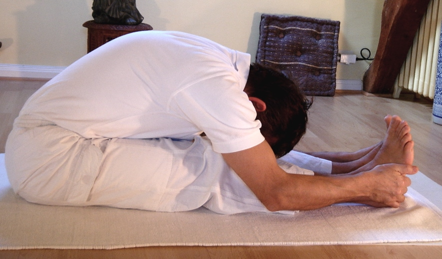 Paschimottanasana. - 10 Yoga Poses That Aid in Addiction Recovery