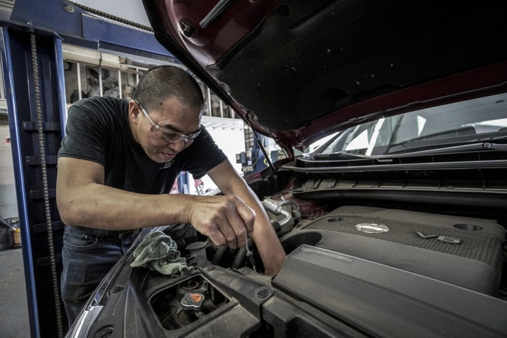 car maintenance 1024x682 - Tips on How to Prepare the Car for Vacation Driving