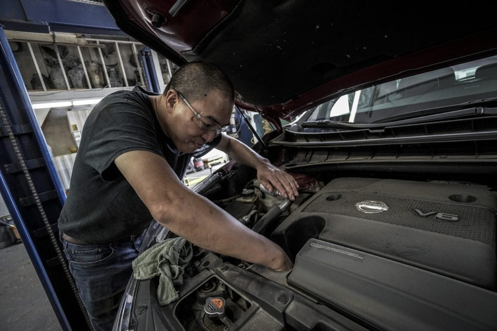 car repair 1024x682 - Tips on How to Prepare the Car for Vacation Driving