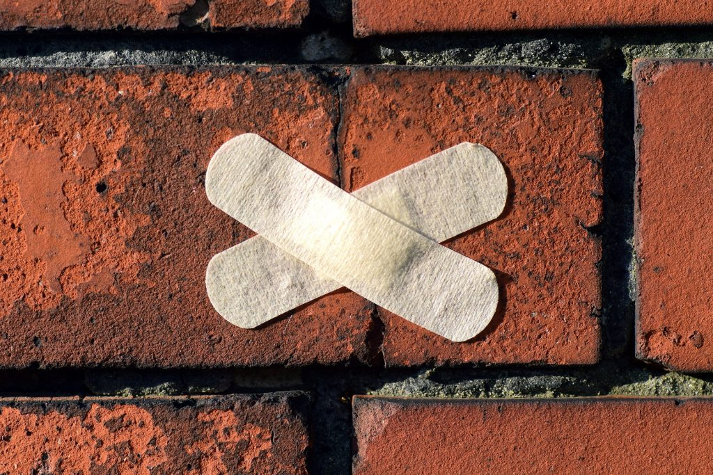wall patch 1024x683 - How To Repair Damaged Brickwork On Your Home