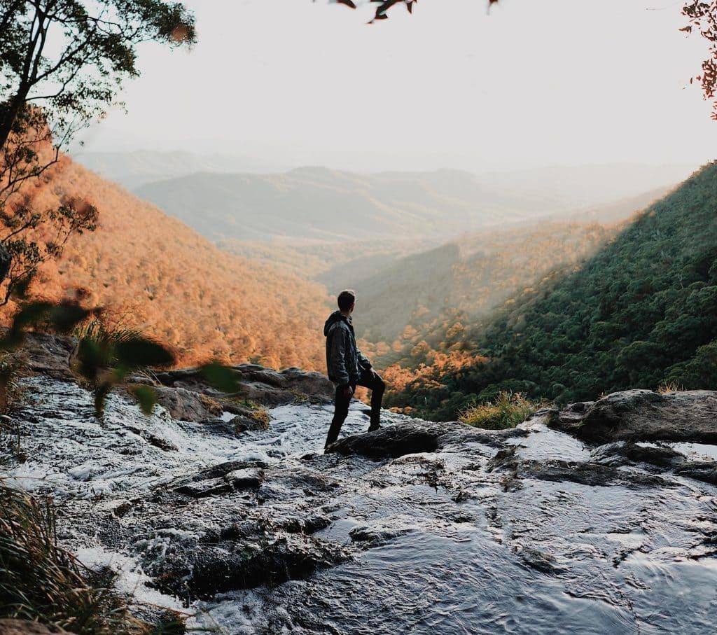 Fly-Net Hiking, Australia Royalty Free Stock Photos ... |Hiking Australia