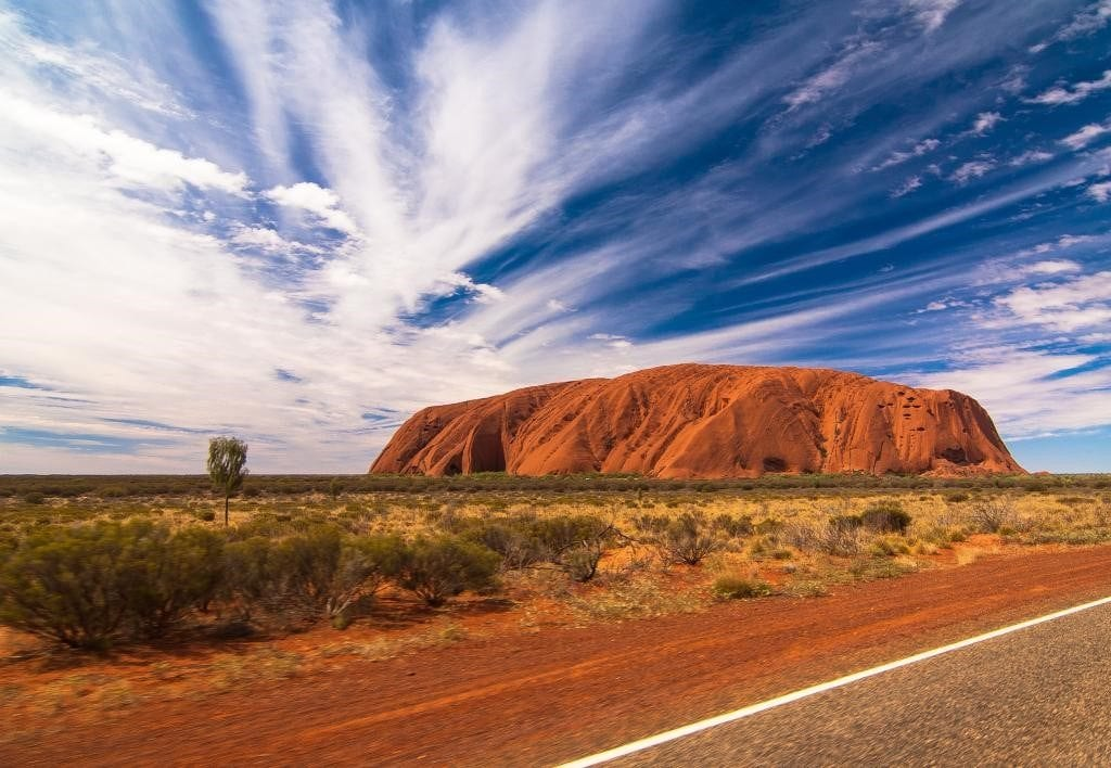 Uluru Base Walk 1024x708 - 8 Hiking Places in Australia for a Perfect Active Holiday