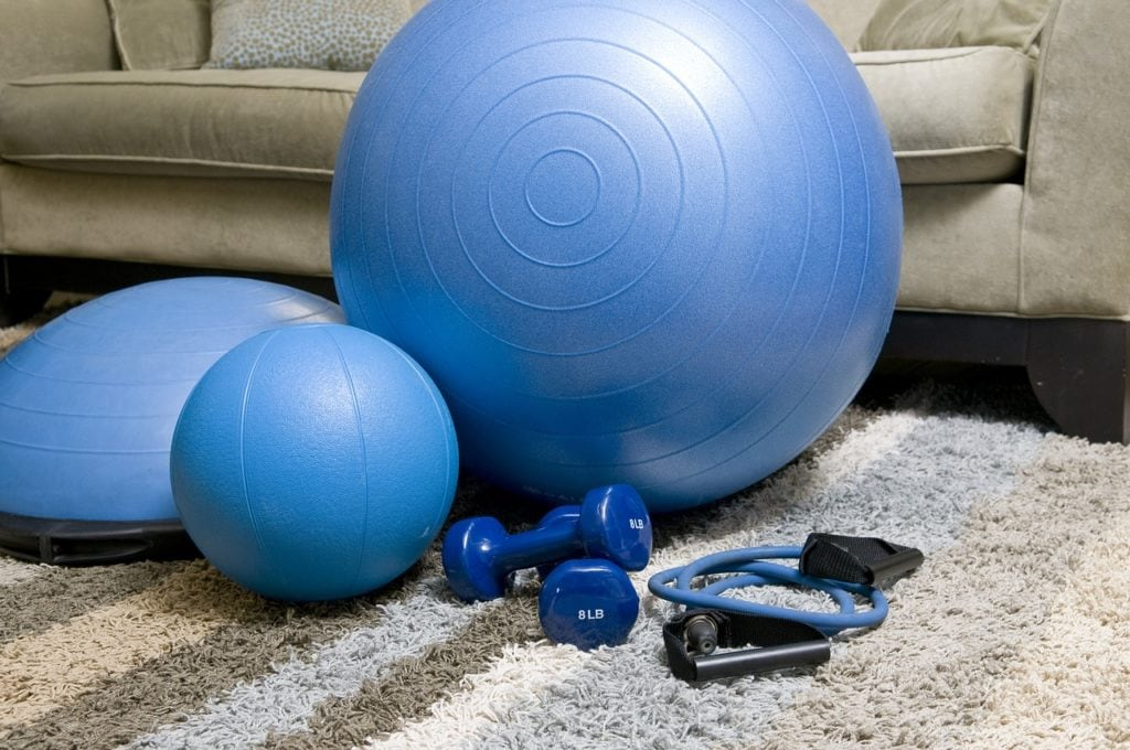 home fitness equipments 1024x680 - 5 fitness tools to revitalize your workout program