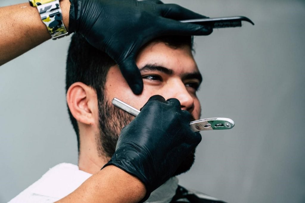 shaving 1024x683 - How to choose the perfect barbershop with a limited budget