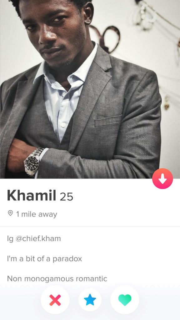 Mr Paradox 576x1024 - 10 Best Tinder Bio Examples for Guys (To Make Her Swipe Right)