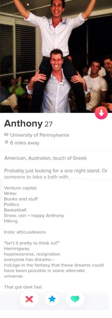 Single minded 362x1024 - 10 Best Tinder Bio Examples for Guys (To Make Her Swipe Right)