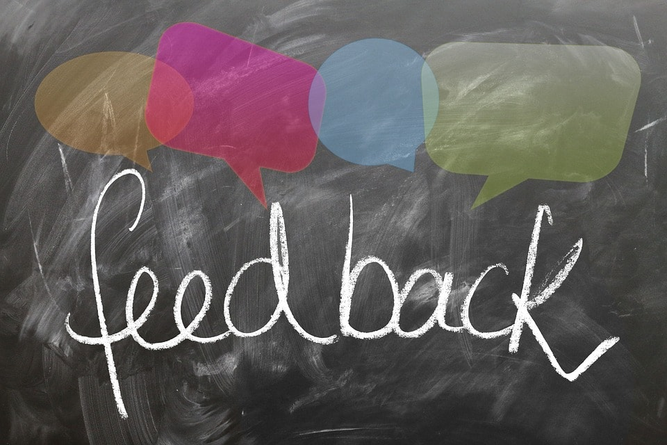 Seek Feedback - 7 Best Growth Hacks that Can Help Small Business