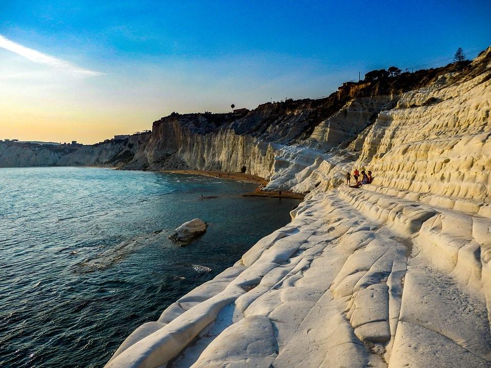 cliff at Amalfi Coast - Things to do on Amalfi Coast-Sicily-Sardinia Tour