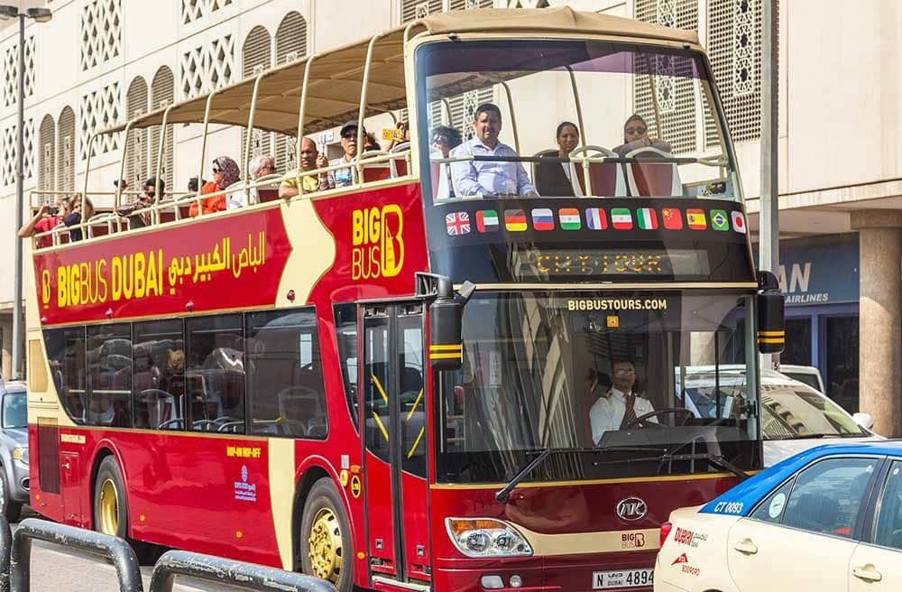 hop on hop off big bus sightseeing tour - One Day in Dubai: Top Things to Do & See in Dubai