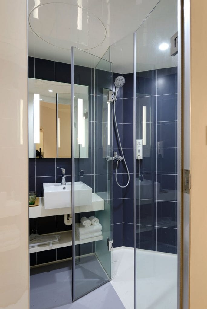 Shower Door 684x1024 - The Ultimate Guide to Remodeling a Small Bathroom