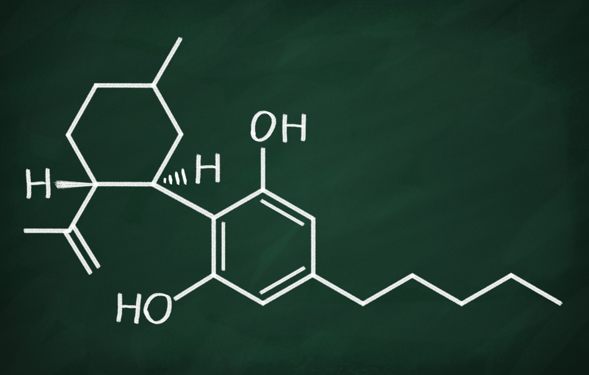 CBD Oil chemical structure - What's the Difference Between Hemp Oil and CBD Oil?