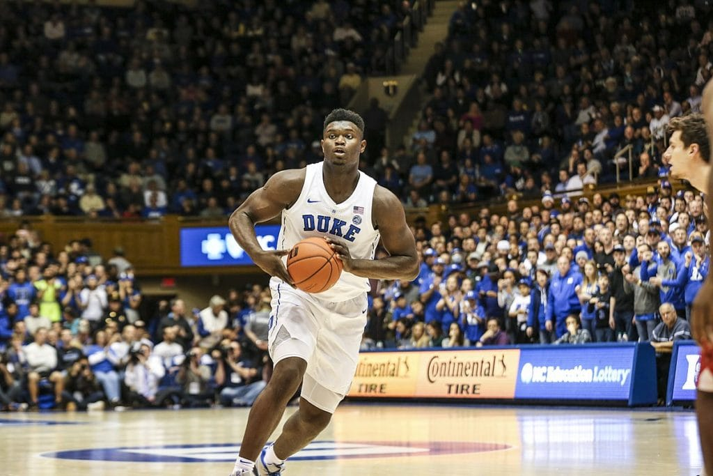 Zion Williamson 1024x683 - NBA Draft Lottery Results: Will the Pelicans keep Zion Williamson?
