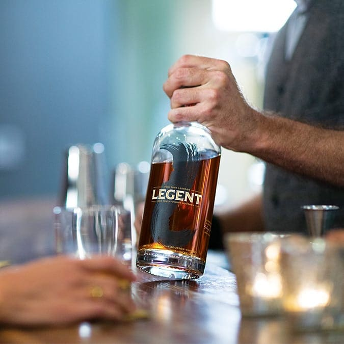 bourbon unlike any other 675 - Legent Bourbon: the Kentucky  Straight Bourbon that could.