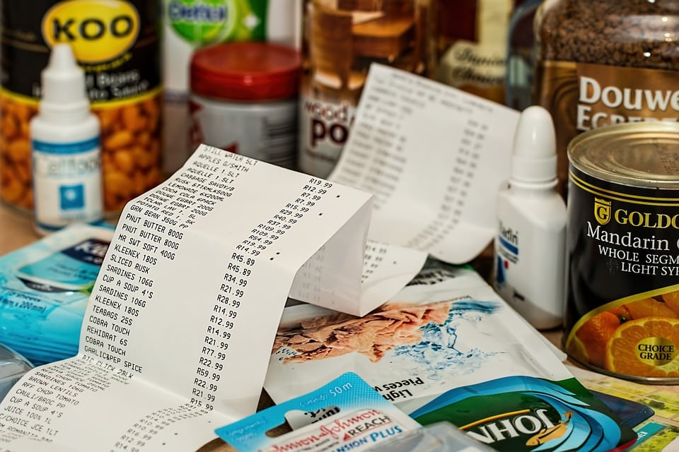 receipts and bills - Stay Away from Lingering Debts – 11 Easy Tips to Create the Perfect Budget!