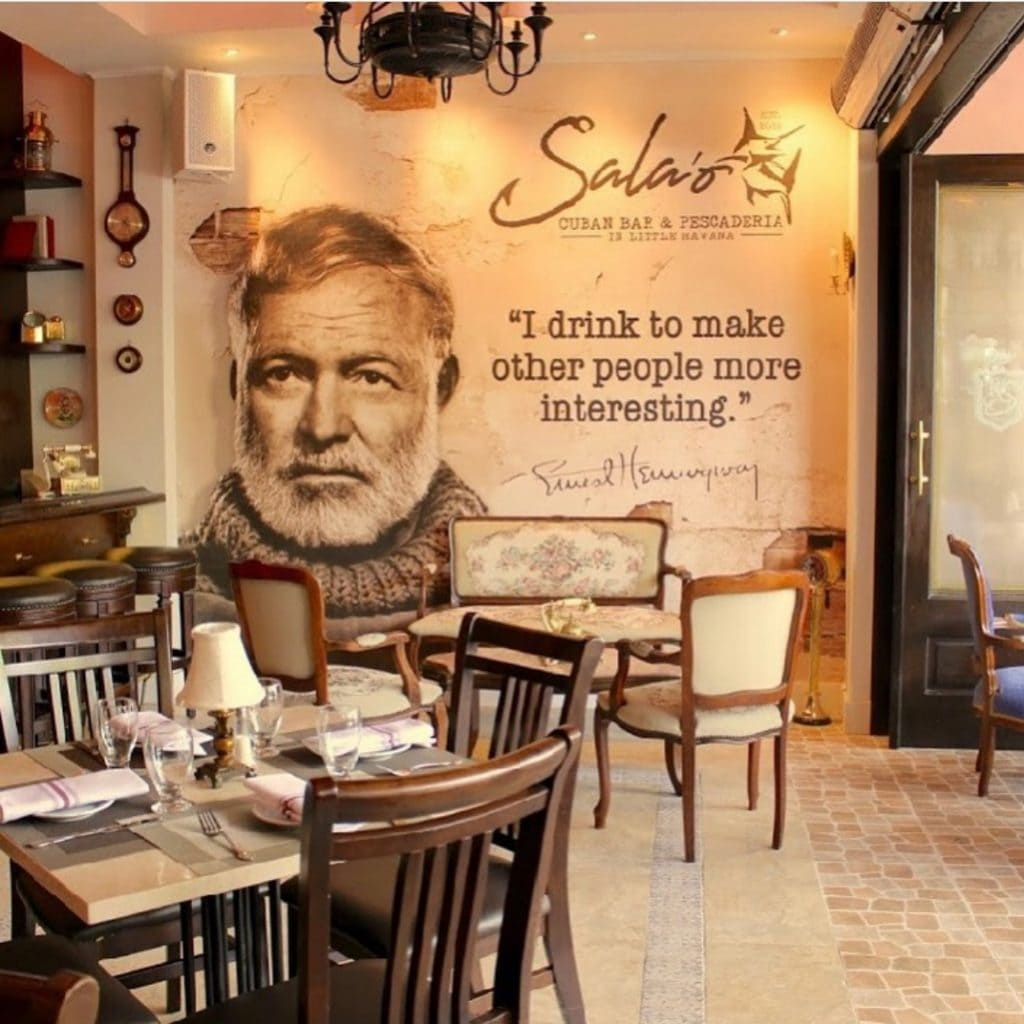 salaowall 1024x1024 - Sala'o Bar and Pescaderia rewrites the book on traditional Cuban fare.