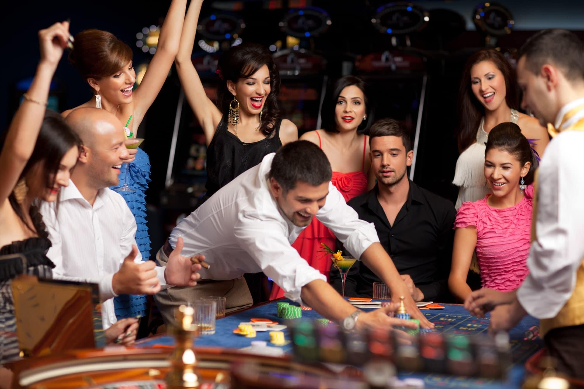 Visiting a Casino