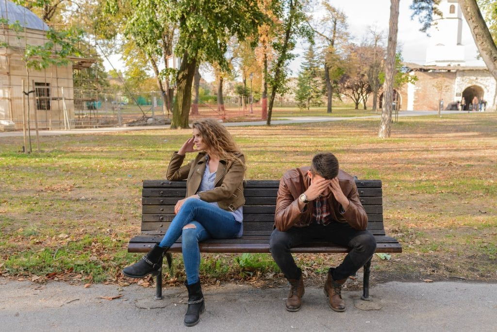 couples fight 1024x684 - Managing the Stress of Your Love Life