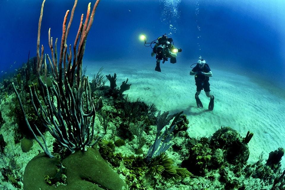 scuba diving - 5 beautiful islands for your Honeymoon