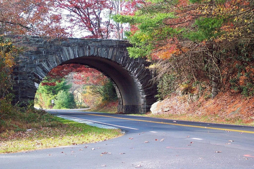 Blue Ridge Parkway 1024x682 - Top 5 motorcycle rides this fall