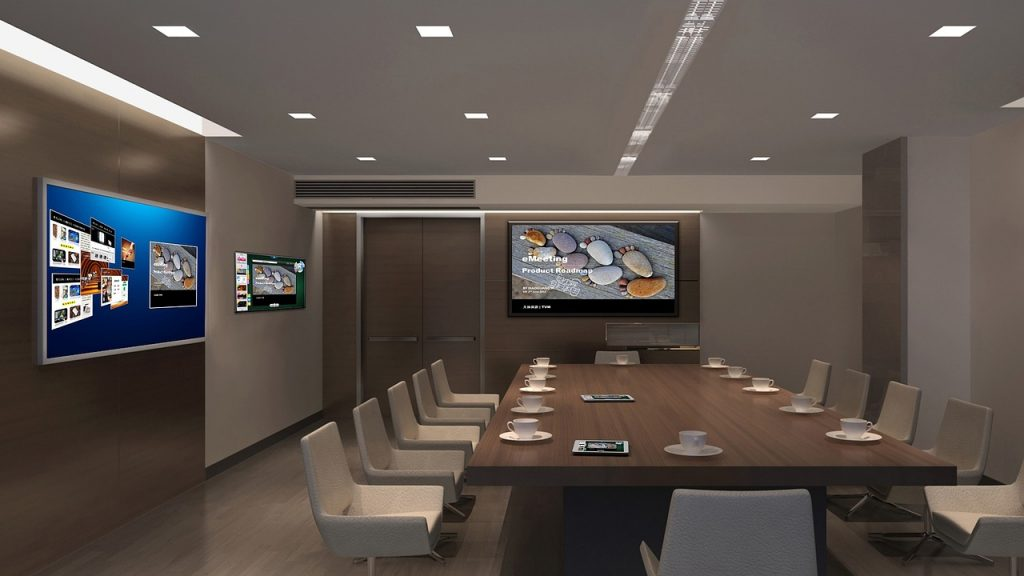 Integration of technology 1024x576 - The Hottest Office Design Trends to Watch For