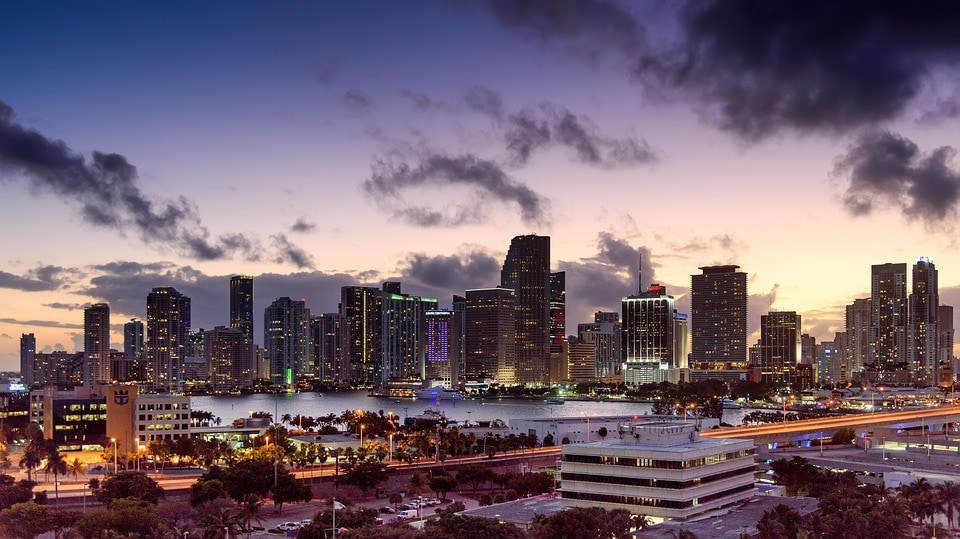 Miami Florida - Top 5 Best US Cities for Single Men to Move To