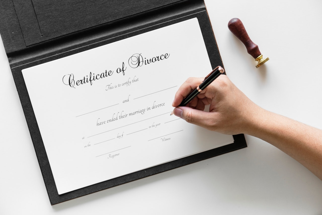 certificate of divorce - Most common reasons that stands behind the divorce
